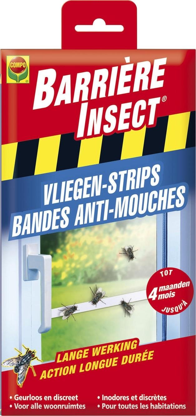 Vliegenstrips tegen vliegen binnenshuis