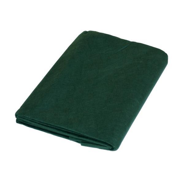 Vliesdoek groen 15 x 5 mextra sterk34 gm2