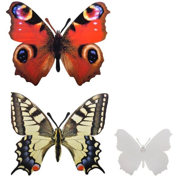 Vlinder muurdecoratie