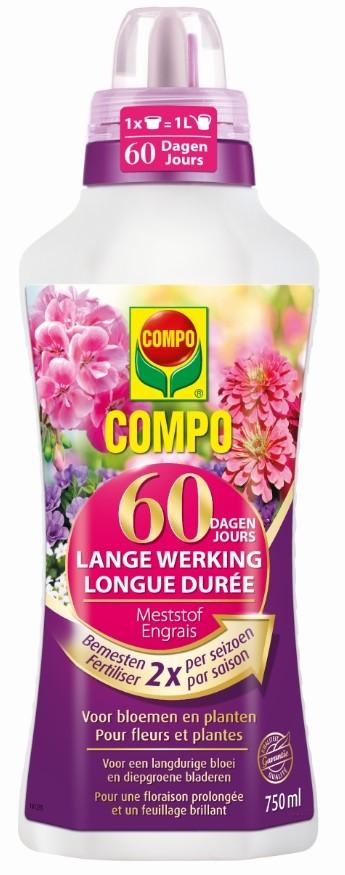 Compo vloeibare meststof 60 dagen werking 750 ml