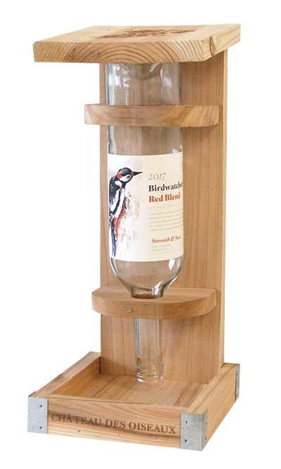 Voedersilo wijnfles 750 ml