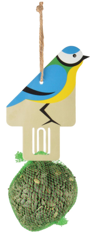 Vogelhanger zonnebloempittenvogelvoeder