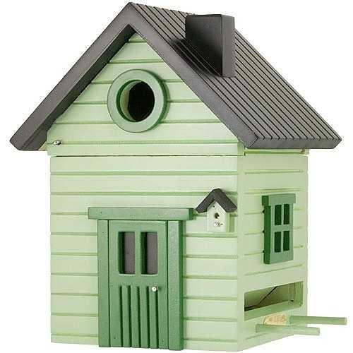 Vogelhuisvoederhuis Multiholk Green House