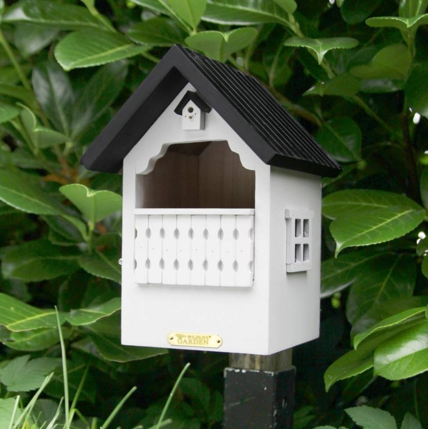 Vogelhuisje witroodborstjes