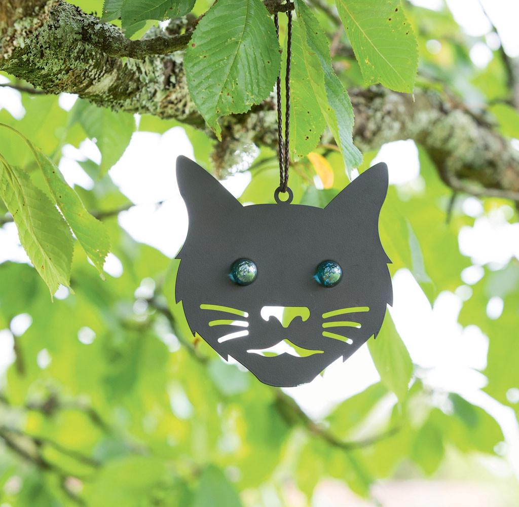 Vogelverschrikker kattenkop