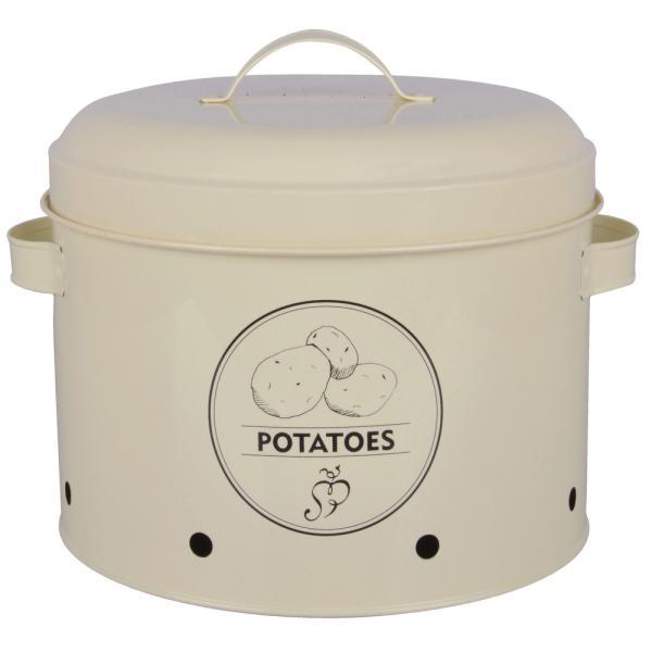Voorraadblik aardappelen Potatoes594 liter