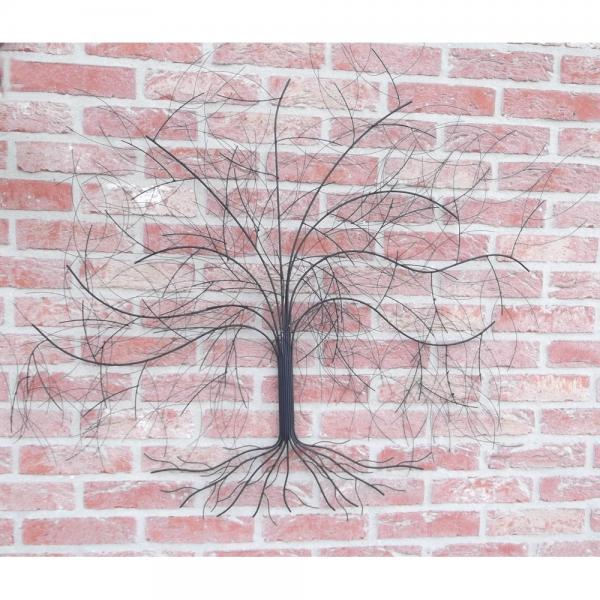 Wanddecoratie boomsilhouet