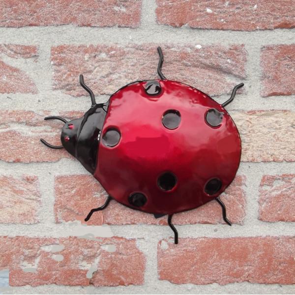 Wanddecoratie lieveheersbeestje