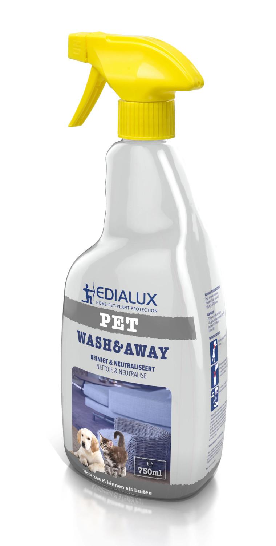 Wash and Away spray reinigingsmiddel 750 ml