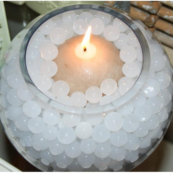 Watergelparels witdroge vorm