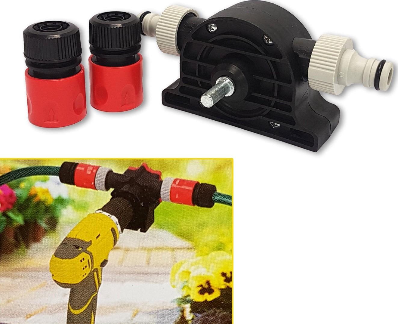 Boormachine aangedreven waterpompsuper compact