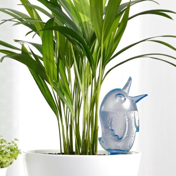 Gietsysteem potplanten vogeltje blauw220 ml