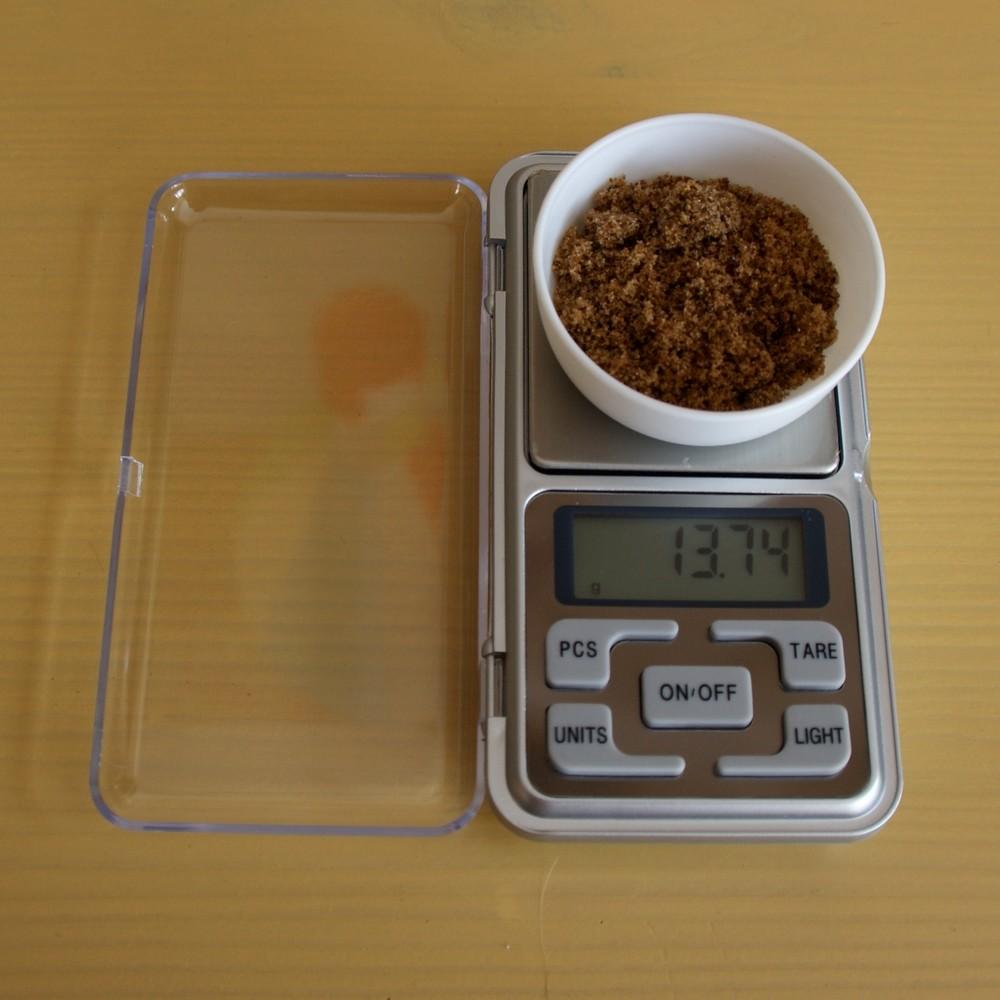 Weegschaal digitaal zakformaat tot 100 gram
