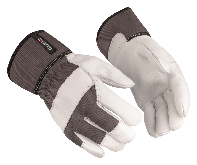 Werkhandschoen gevoerd GUIDE maat 10