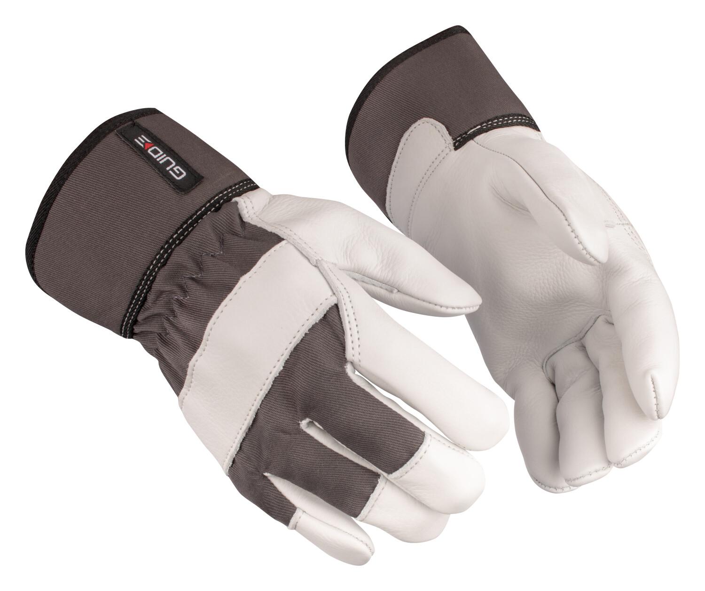 Werkhandschoen gevoerd GUIDE maat 7