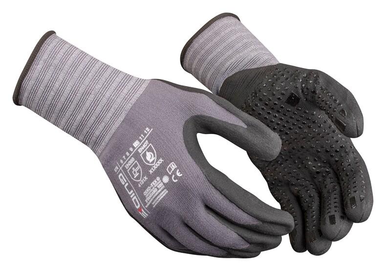 Werkhandschoenen met goede grip maat 10