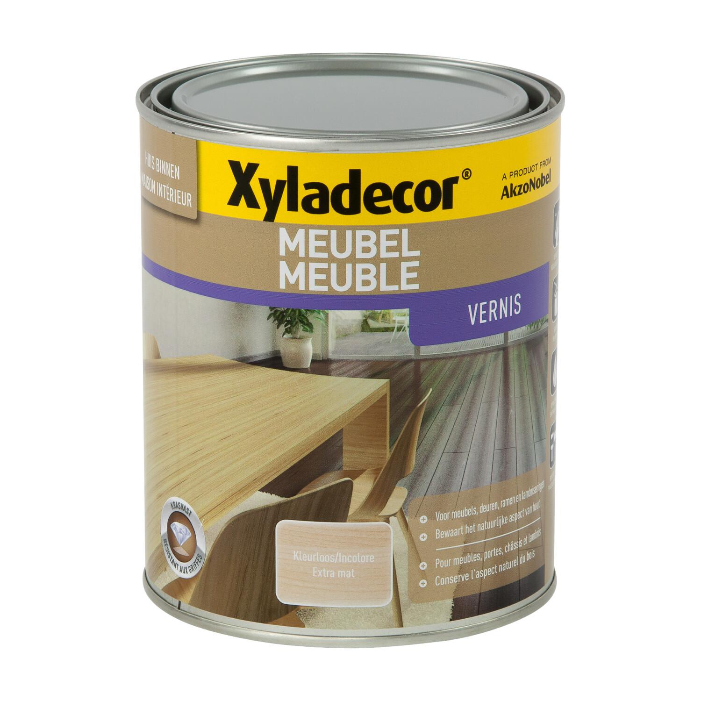 Xyladecor Meubel Vernis Extra Mat Kleurloos kleurloos 1 l