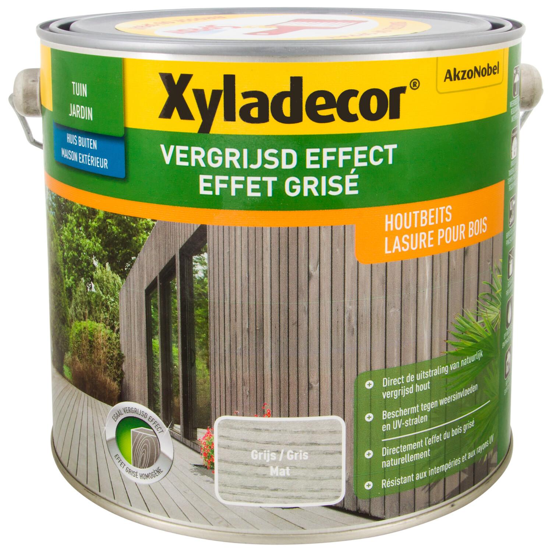 Xyladecor Vergrijsd Effect grijs 25 l