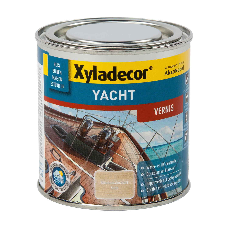Xyladecor Yacht Vernis Zijdeglans kleurloos 250 ml