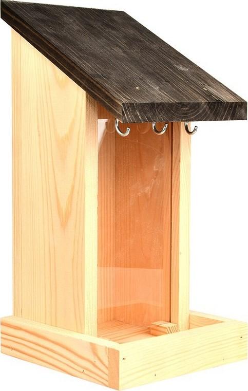 Zadenvoedersilo wandmodel hout