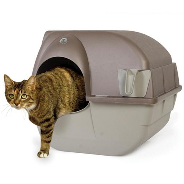 Zelfreinigende kattenbak Roll n Clean medium