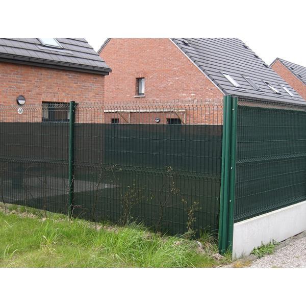 Zichtbreeknet privacynet 125 m x 50 m groen